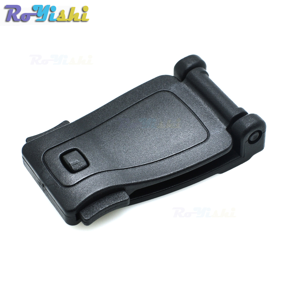 25pcs/pack Black Plastic Buckles Strap Clip Belt Keeper For Molle Bag Camp Hiking Free Shipping