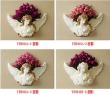 European-style creative wall hanging on the living room decorative art angel porch pendant