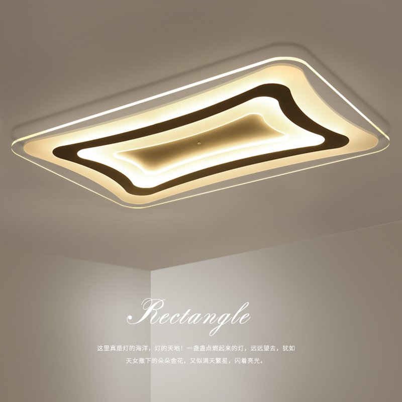 LED Modern acrylic ceiling lights home living room lamp Ultra-thin Fixtures ceiling lamps children bedroom Ceiling lighting