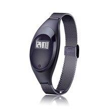Мода 2017 г. Стиль Z18 Smart Band Водонепроницаемый женщин умные часы кронштейн Спорт SmartBand шагомер сердечного ритма часы
