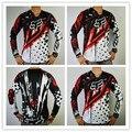 FOX Cross Country Camiseta off-road mountain bike ropa absorbe la transpiración de la Camiseta al por mayor de DH
