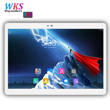 Russia 10.1 inch tablet pc Octa Core Android 7.0 RAM 4GB ROM 64GB 1920*1200 IPS Dual SIM card tablets pcs 10 10.1 Free Shipping