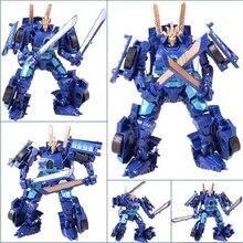 Anime Baru 16 Gaya Transformasi 4 Mobil Robot Mainan PVC Action Figure Brinquedos Model Klasik Mainan Anak Laki-laki untuk Hadiah Juguetes