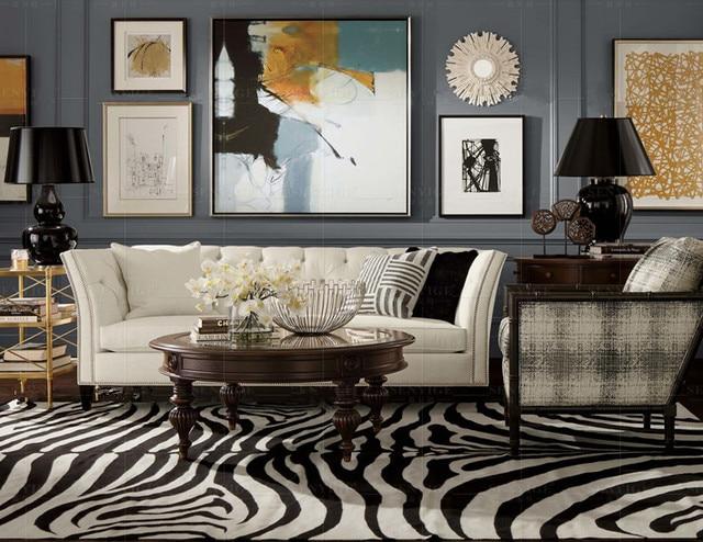 US $843.6 5% OFF|Hohe qualität kuh verschiffen graded echte echtem leder  sofa/wohnzimmer sofa möbel Amerikanischen stil zu hause verwendet drei sitz  ...