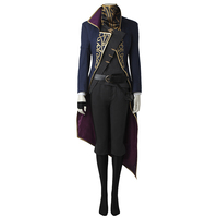 Dishonored 2 Costume Emily Kaldwin Cosplay Full Set Hot Game Halloween Party Props Women Adult Carnival