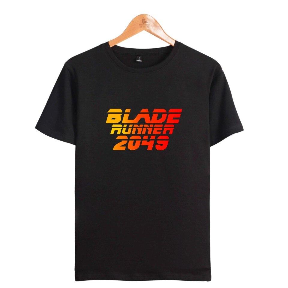 Blade runner T-shirts High Quality T Shirt Men Cotton Movie Print Cool Tops Men Short Sleeve T Shirt Blade runner