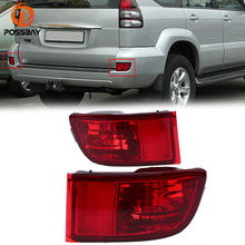 POSSBAY Rear Fog Light Bumper Reflector font b Lamp b font for Toyota Land Cruiser Prado