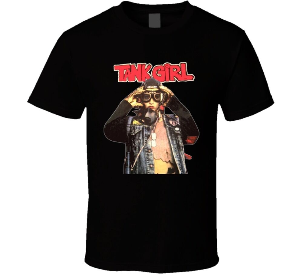 Tank Girl 90s Cult Movie T Shirt