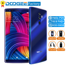 "Doogee Mix 2 Octa Core Smartphone 4 Cameras 5.99"" FHD+18:9 Screen Mobile Phone 6GB+64GB Android 7.1 Face&Touch ID 4G Cell Phone(China)"