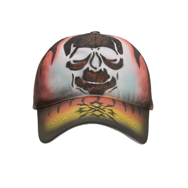 SKULL PAINTING BASEBALL CAPS II