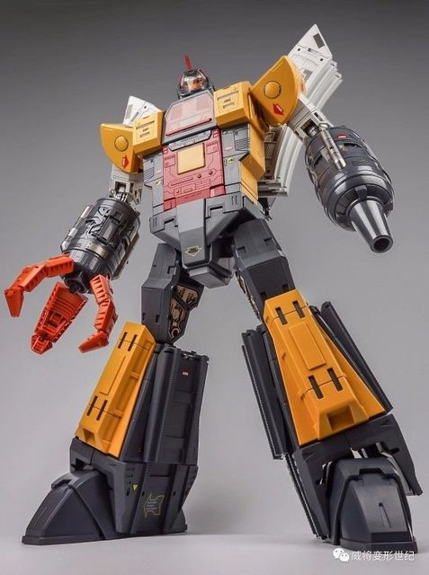 Transformation 60cm Weijiang Light And Sound Terminus Giganticus Omega Supreme Figure Toys
