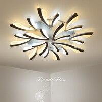 תאורת תקרת סלון גופי מודרני LED מנורות Creative חידוש שינה תקרת אורות בית תאורה ילדי של מנורה