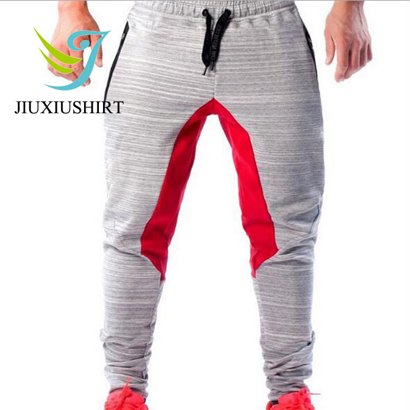 JINXIUSHIRT Running Pants Mens Sportwear Muscle Men font b Fitness b font Sport Elastic Breathable Training