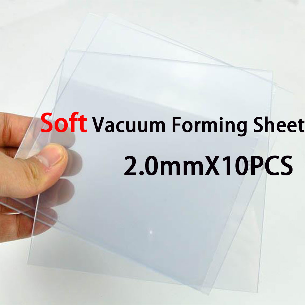 Teeth Whitening Spirited New Arrival Soft Dental Vacuum Forming Eva Sheet 2.0mm Thick 10pcs Clear Color Drip-Dry Oral Hygiene