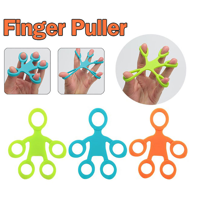 Hand Grip Strengthener Finger Exerciser Strength Trainer Forearm Gripper Workout Stretcher Relieve Wrist Pain Carpal Tunnel image