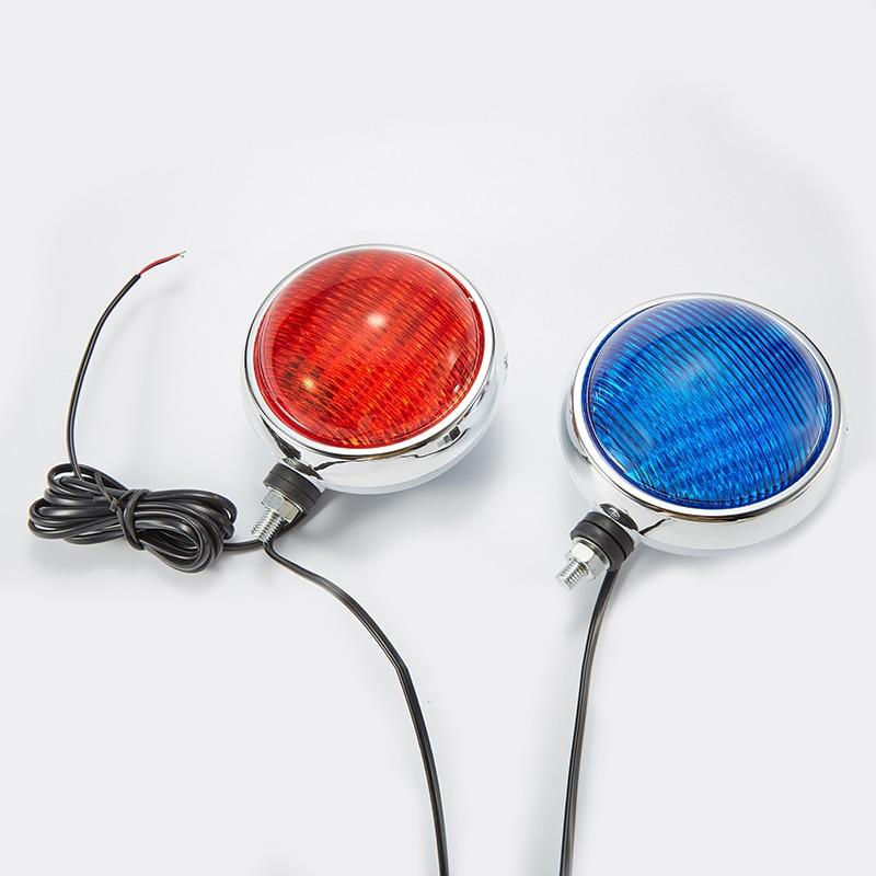 12V warning police motorcycle bike lights red and blue police pl 12921jsb 02m