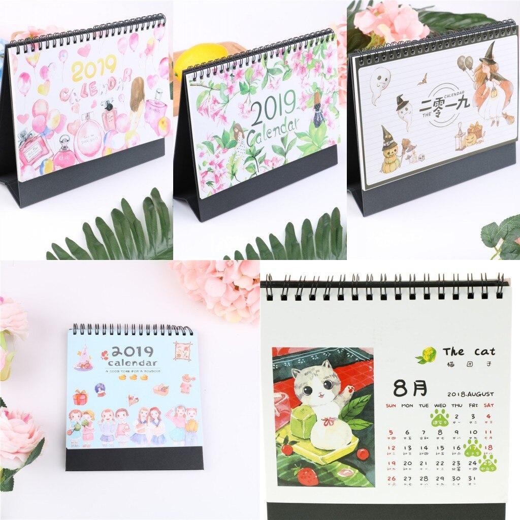 Calendars, Planners & Cards Calendar 2019 Simple Style Table Calendar Weekly Planner Monthly Plan To Do List Desk Calendar Daily Desktop Calendar