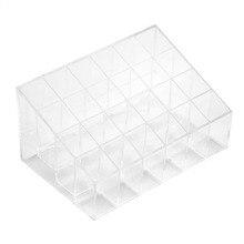 24 Grid Acrylic Makeup Organizer Storage Box Cosmetic Box Lipstick Jewelry Box Case