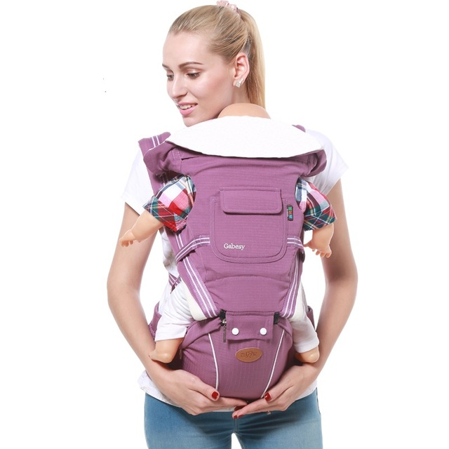 Gabesy  Ergonomic Multifunctional Baby Carrier with Hip Seat – for babies aged 0-36 Months and o-type legs prevention