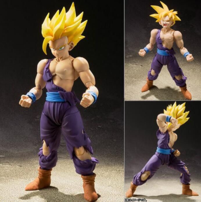 "6/"" S.H.Figuarts Super Saiyan Son Gokou Figure Dragon Ball Z Collection in Box"