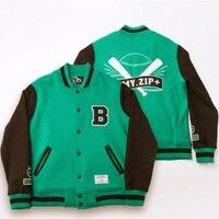 Mainlead Kpop BTS Casual Coat Jackets FM ARMY.ZIP Varsity Bangtan Boys Baseball Women Men