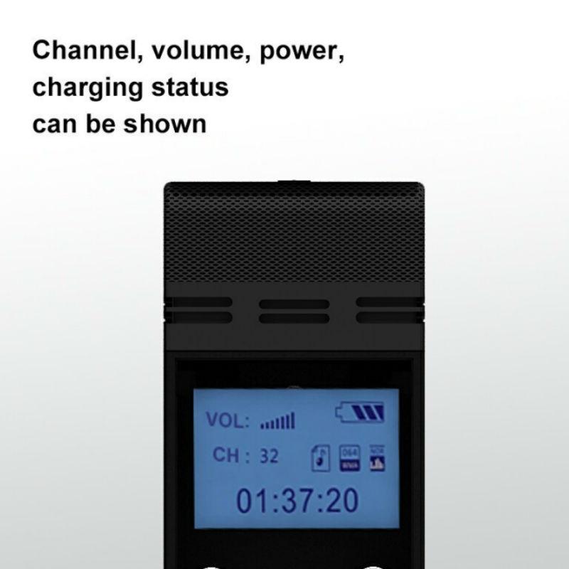 TP-WIRELESS 2.4GHz Système de microphone portable sans fil pour - Audio et vidéo portable - Photo 4