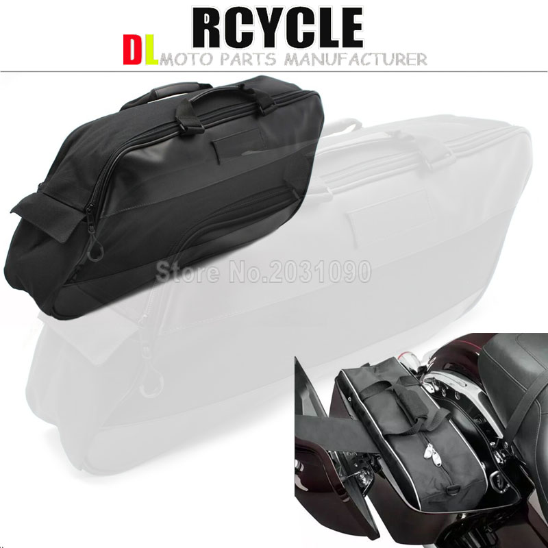 Side box liner bag gliding waterproof lining kit For Harley Touring Road King Electra Street Glide