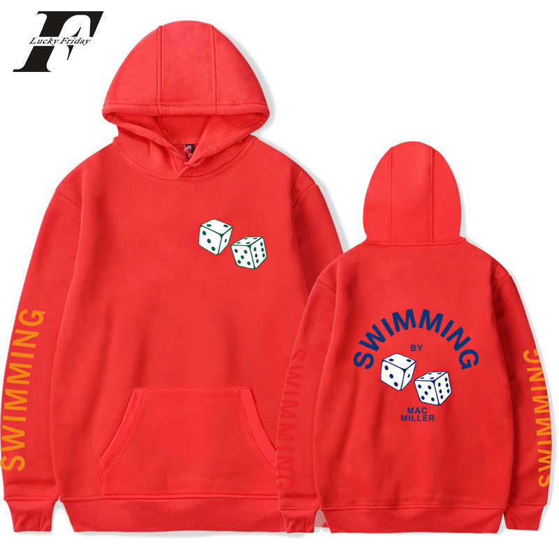 LUCKYFRIDAYF 2018 Mac Miller Cool Cap oversized hoodie sweatshirt trainingspak Mode Casual Vrouwen/Mannen K-pop Fans Kleding