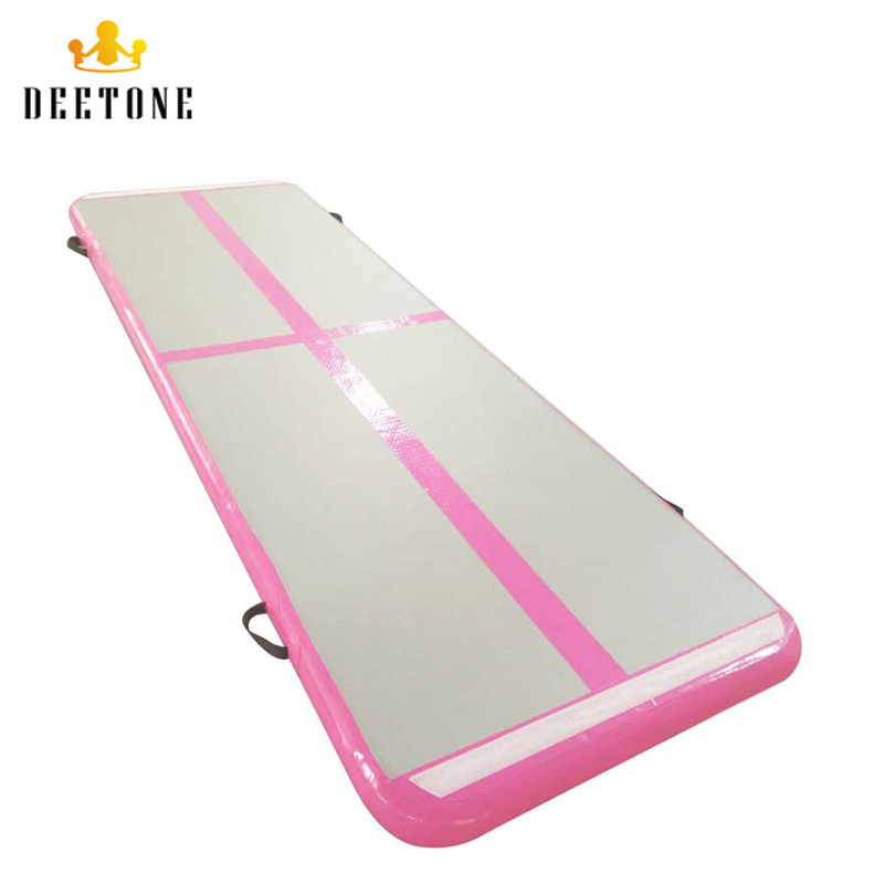 DEETONE Pink Home Use 300x90x10cmH Inflatable Air Track