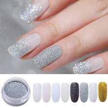 hot deal buy holographic nail glitter powder shining sugar glitter nail art holo acrylic dust chrome pigment powder manicure nail decoration