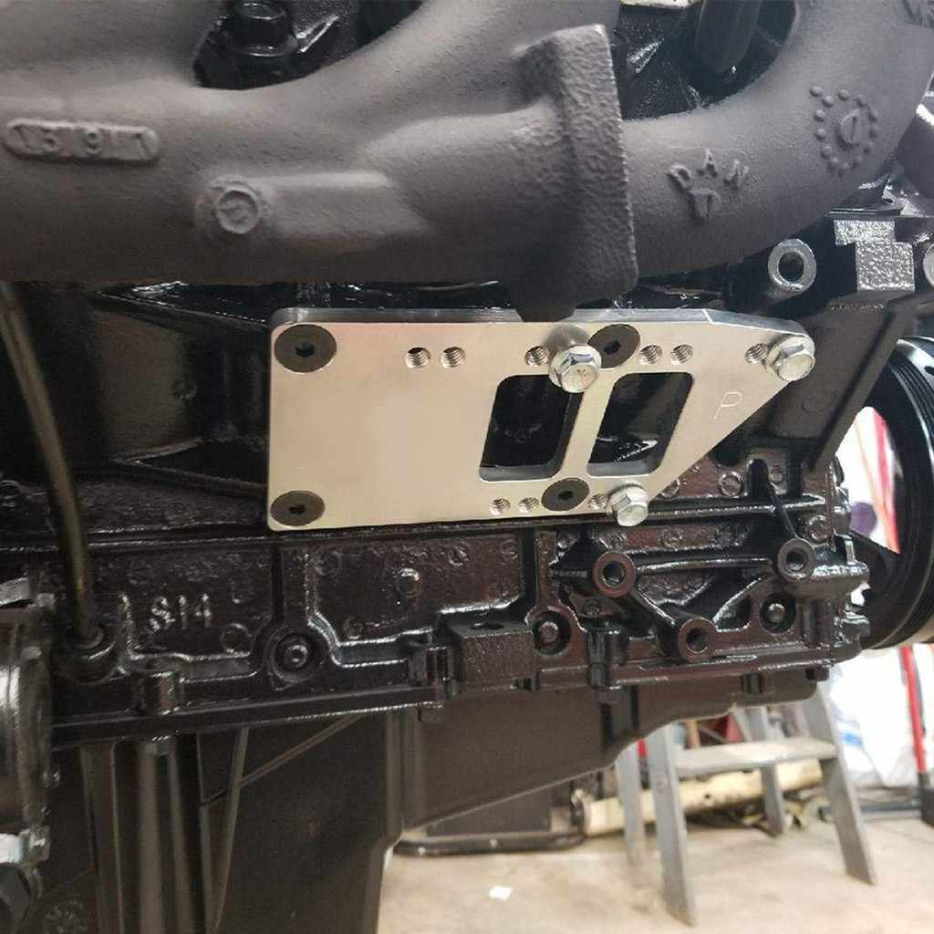 Сталь для двигателя, для замены кронштейны SBC v-образной КРЕПЕЖНОЙ ПЛАСТИНОЙ LS двигатель преобразования пластины для установки на LS1 LS6 LS2 Универсальный Автомобильный кронштейн дропшиппинг для bmw X3 X5 X1
