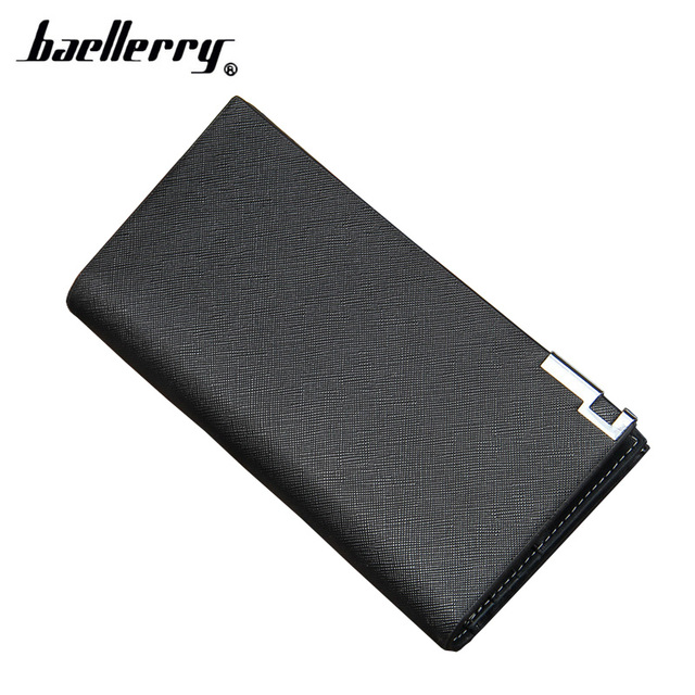 baellerry Men Wallets PU Leather Mens Wallets Luxury Brand Male Purse Fashion Wallet Clutch Bag For Men Porte Monnaie Homme