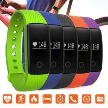 จัดส่งฟรี!บลูทูธPedometerกีฬาการตรวจสอบอัตราการเต้นหัวใจสำหรับIOS A Ndroidมาร์ทโฟนดู