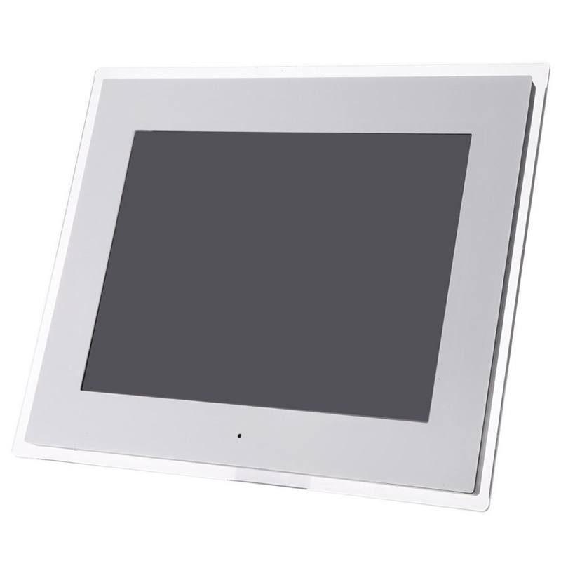 14 HD TFT-LCD Digital Photo Album Frame With Alarm Clock MP3 MP4 Movie Player And Desktop Remote