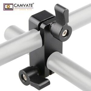 Image 3 - CAMVATE 90도로드 리거 어댑터 클램프 DSLR 15mm로드 시스템 숄더 마운트 C1102 카메라 사진 액세서리