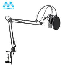MEMTEQ NW-700 Estudio Profesional de Radiodifusión de Grabación del Micrófono de Condensador Con Soporte de Micrófono Y Montaje de Choque Nueva