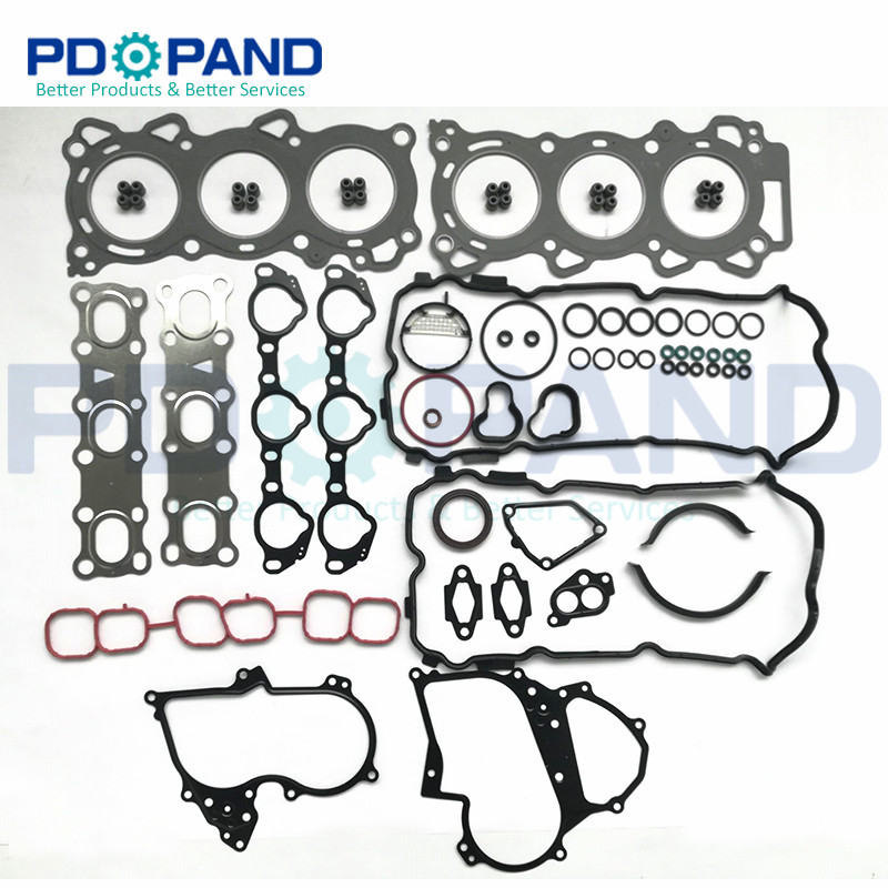VQ25 VQ25DE Engine Overhaul Rebuilding Gasket Kit  A0101-JK20A For Nissan TEANA J32Z 2.5L V6 24V