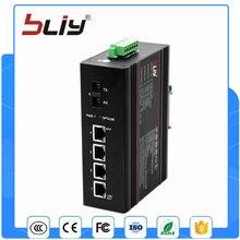1GX4GT 4 puerto ethernet gigabit monomodo fibra dual interruptor de fibra óptica
