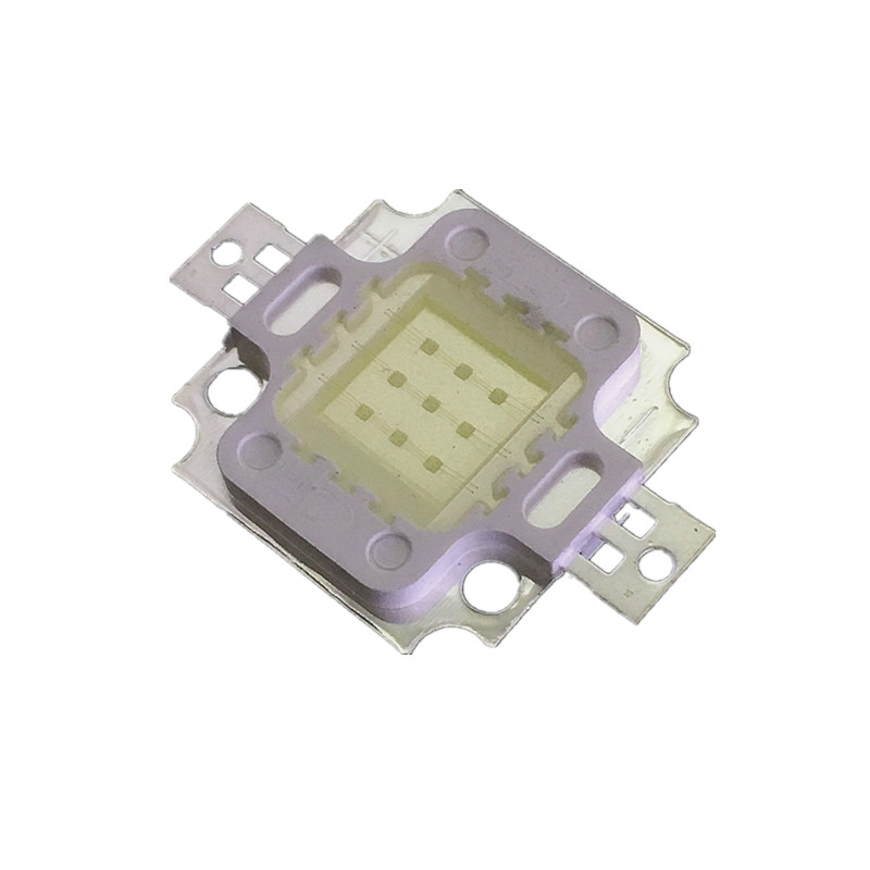 10pcs 10W LED High Power LED Floodlight Bead 10000k 20000k 30000k Cool White 900mA 9-12V 800-1000LM 30mil Chip Free Shipping