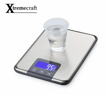 1 Â�ラムタッチスクリーンのデジタルキッチンスケール 15 Â�ロビッグ食品ダイエット重量バランススリムステンレス鋼電子スケール