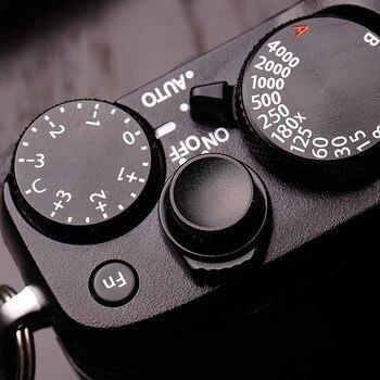 Кнопка спуска затвора из матового алюминия для Fuji FujiFilmFuji FujiFilm X100F Xpro2 XT2 XT20 XT10 XE3 Xpro1 XE2 XE1 XE2S