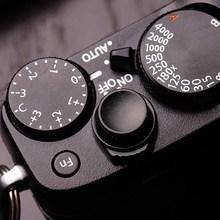 МАТОВАЯ Алюминиевая кнопка спуска затвора для Fuji FujiFilmFuji FujiFilm X100F Xpro2 XT2 XT20 XT10 XE3 Xpro1 XE2 XE1 XE2S