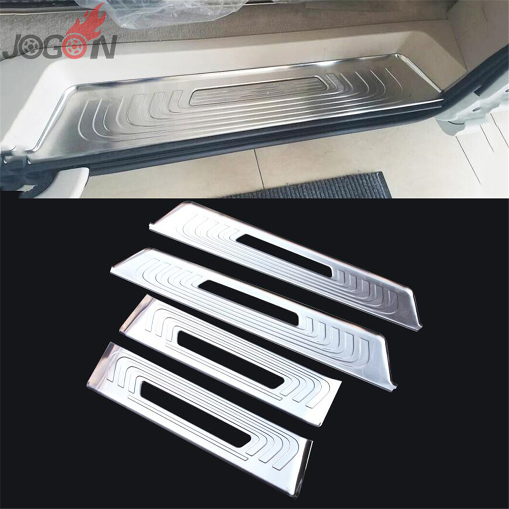 Outer Trunk Bumper Stainless Steel Protector Sill Plate for VW BORA 2013-15