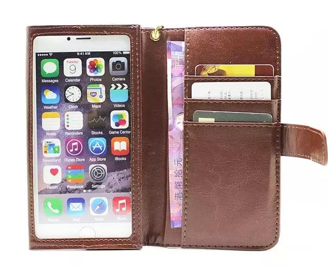 Hand Strap Card Wallet Touch Screen Mobile Phone Leather Case Bags For Xiaomi redmi pro,redmi 3 pro,Mi Mix,Mi Note 2,mi 4
