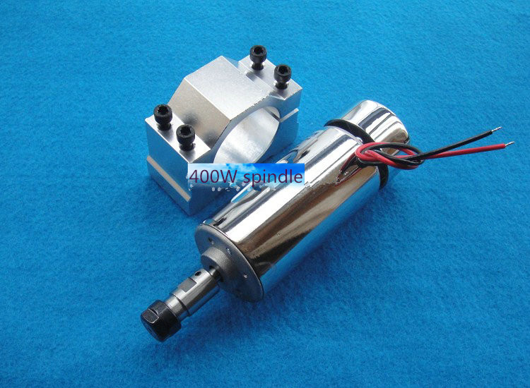 ER11 48V 400W Brush piece suit high-speed air-cooled spindle motor spindle engraving machine spindle PCB 600w high speed spindle motor air cooled motor dc spindle collet for cnc engraving machine drilling 1pcs