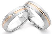 Роскошные Пользовательские мужского покроя красивые Titanium обручальные юбилей кольца наборы для любителей