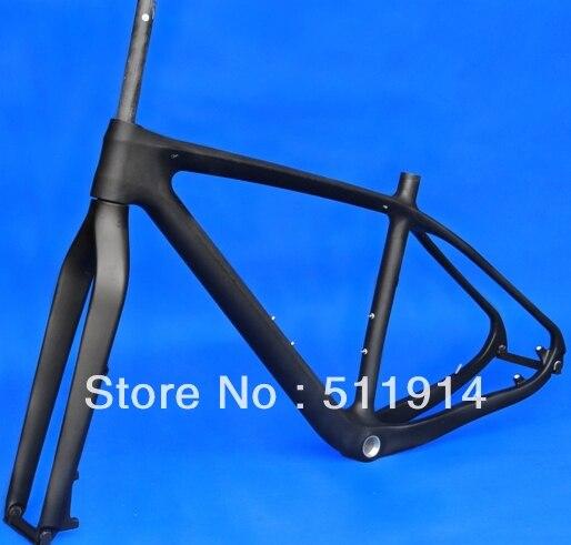 FR219 full carbon UD matt matte mountain bike MTB 29ER BSA 29 Wheel frameset Frame fork