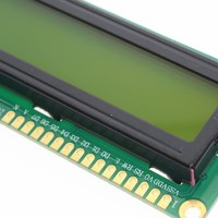 1PCS LCD1602 1602 module green screen 16x2 Character LCD Display Module.1602 5V green screen and white code for arduino 2