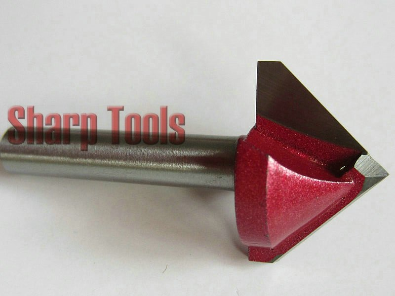 6*22 мм 90 градусов V паз фрезы фаски фрезы Деревообрабатывающие инструменты с ЧПУ 3D гравировальные фрезы Карбид Концевая мельница набор