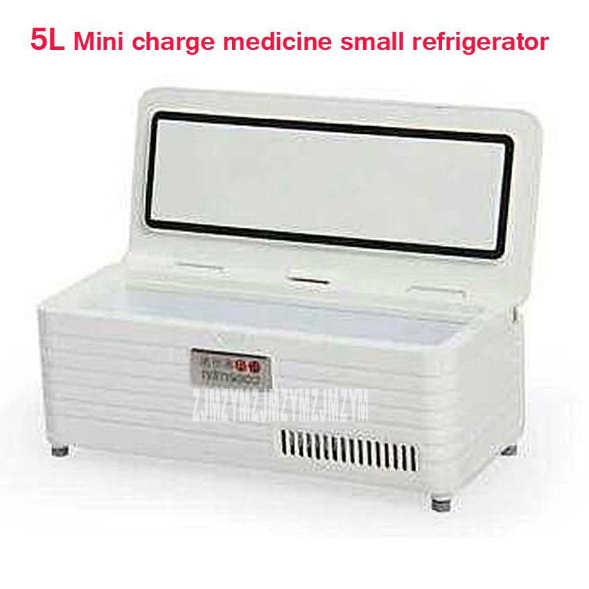 5L Intelligent Variable Frequency Insulin Refrigerated Box Portable Refrigerated Box Mini Charge Medicine Small Refrigerator